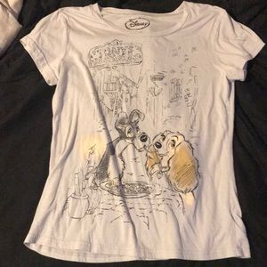 Lady And The Tramp Flowy Tee